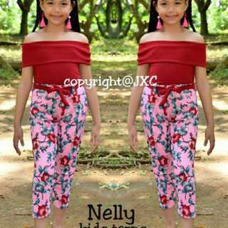 "🙎""NELLY"" kid's terno with turban"