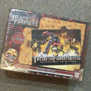 🆕 Transformers Jigsaw Puzzle Set