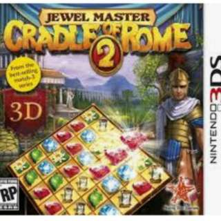 3DS Game: Jewel Master: Cradle Of Rome 2