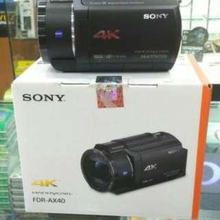 Sony FDR-AX40 4K Handycam Kredit tanpa Kartu Kredit