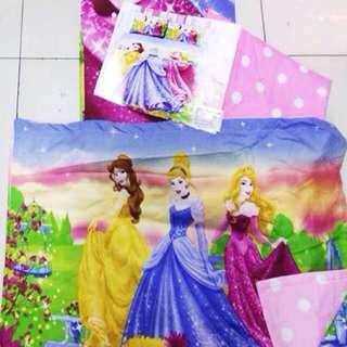 Disney Princess COTTON 4 in 1 Bedsheets Set SINGLE