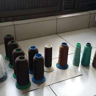 🚚 二手 手工 手作 針織 裁縫 收邊 伸縮 棉線