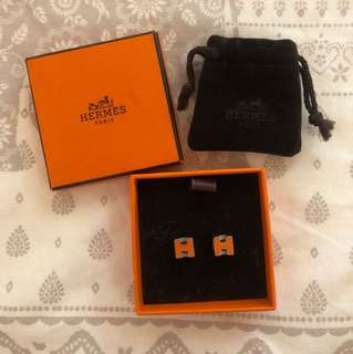 Hermes Orange earring 耳環