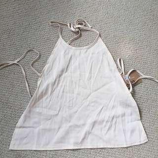 Nude Sabo Skirt Backless top