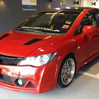 2007 Honda Civic 1.8 I-Vtec Type-R Bodykit