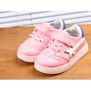 756 Fashion Casual Flashing Kid Shoes