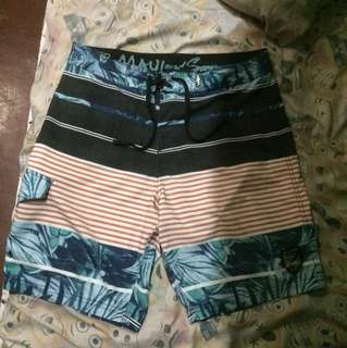 MAUI AND SON'S Board Short size 32