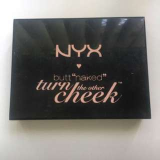 NYX Turn the Other Cheek palette