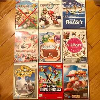 Wii Games JP/HK version
