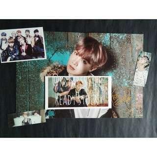 0613 BTS HOSEOK SIGNATURE POSTER SET (READY STOCK)💫