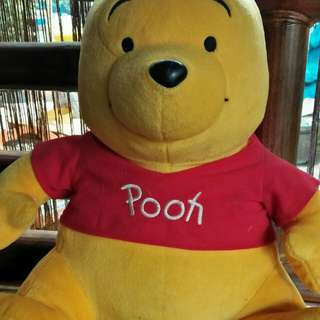Pooh stuffed toy from Japan