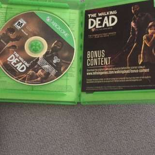 Walking dead season 1 xbox one