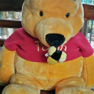 Big Pooh stuffed toy