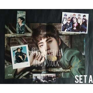 0613 BTS SEOKJIN SIGNATURE POSTER SET (READY STOCK)💫