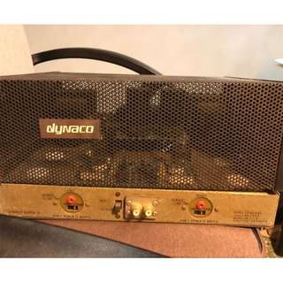 Dynaco ST 70 tube amplifier using EL34 tubes