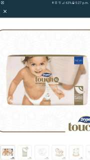 Drypers touch pampers tape type 30's XL