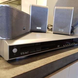 TEAC DVD Home Theater System PL-D3200
