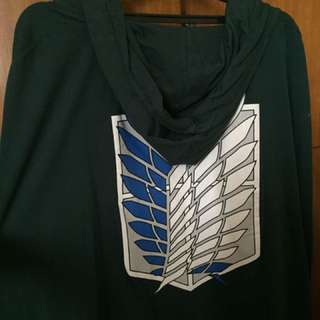 Hood ATTACK ON TITAN preloved