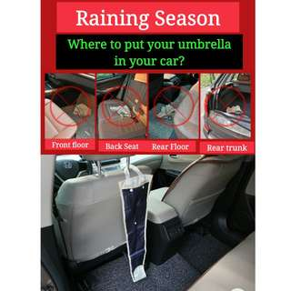 Umbrella Holder For In Car Use