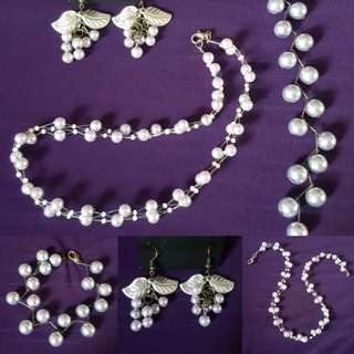 🆕️Periwinkle Pearl Accessories (Pearl Set Jewelry)