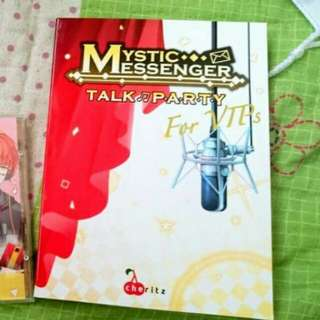 Mystic Messenger Talk Party for VIP (with translation book)