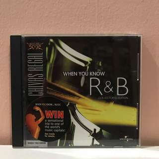 Chivas Regal: When You Know R&B CD