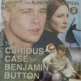 The Curious Case Of Benjamin Button Movie DVD