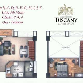 Tuscany private estate in McKinley hill