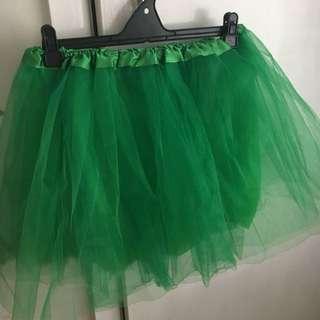 Green Cute Skirt - Party, Dress-Up