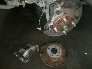 Upgrade Myvi Brake