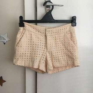Peach/ Cream Coloured Shorts