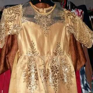 Dress payet gold