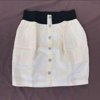 Gaudi Yellow Skirt