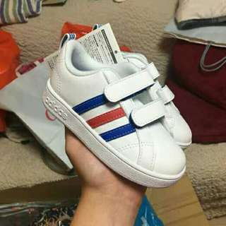 Authentic adidas valstripes white
