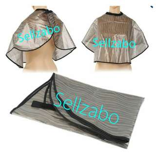 Waterproof Cover Cape For Home Hair Dye Colouring Black Translucent Colour Protection Sellzabo