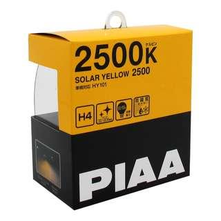 PIAA Solar Yellow HY101 2500K 12V 60/55W