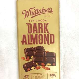 Whittaker's Dark Almond Chocolate