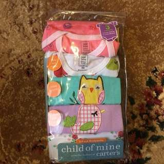 Carters 5 pack bodysuits