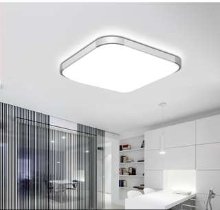 Ceiling mount  3-tone LED Light with remote control 45 x 45cm