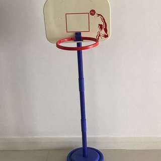 Adjustable Basketball Toy