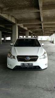 Subaru xv 2013 pakai 2014 Putih Perfect Condition