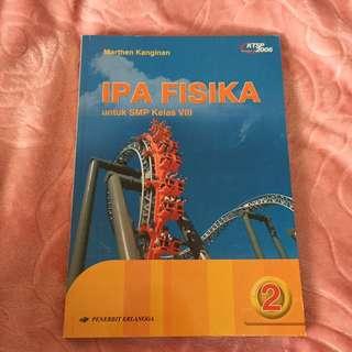 Buku cetak IPA Fisika kls 8 SMP