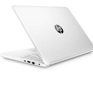 "Kredit Hp Laptop 14"" Intel Celeron 4GB/500GB Tanpa Kartu Kredit"