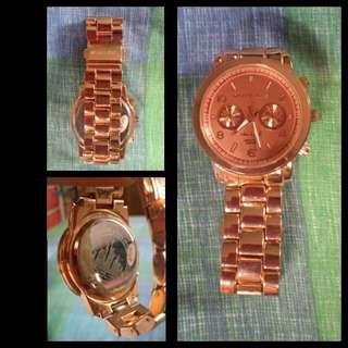 Michael kors replica watch (rose gold)