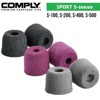 Comply Sport S-Series Foam Eartips [S100 S200 S400 S500]