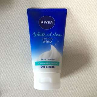 Nivea White Oil Clear Caring Whip