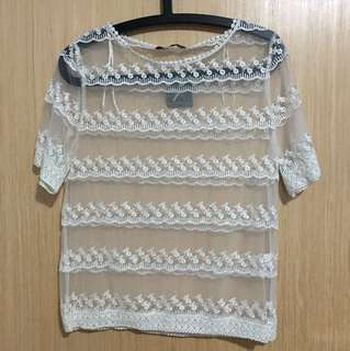 BNWT Primark Lace Top