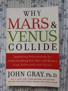 Why Mars & Venus Collide by John Gray (free gift)