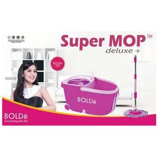 Super Mop BOLDe Original Tipe Deluxe + (Stainless Dan Roda)
