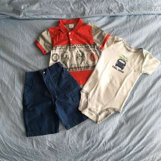 Assorted clothes for 1-2 yr old